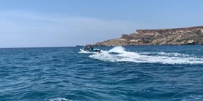 Jetski-Fahren stand zum Abschluss des Malta-Aufenthalts auch noch auf dem Programm.