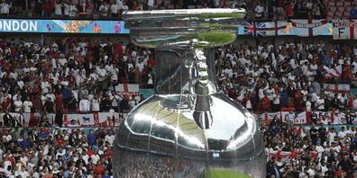 Den EM-Final verfolgten im Wembley mehr Leute als zugelassen gewesen wären