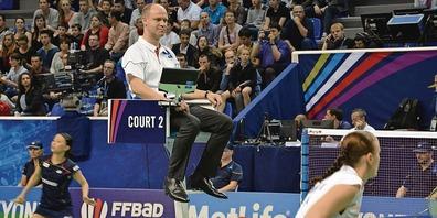 Ivo Kassel lebt in Mörschwil und pfeift für den Badmintonclub Uzwil