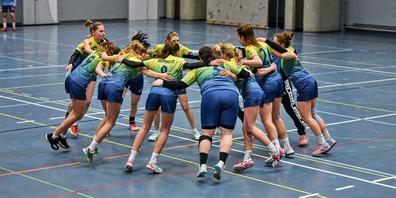 Freude herrscht beim HCRRJ: Die 1. Mannschaft der Frauen und die der Männer steigen beide in die 2. Liga auf.