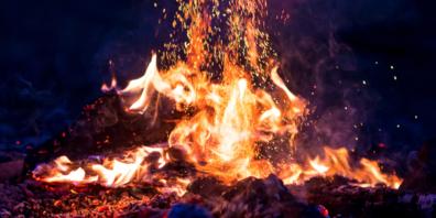 Im Umgang mit offenem Feuer kann man gar nicht vorsichtig genug sein