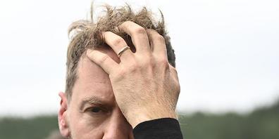 Sebastian Vettel war nach der Disqualifikation geschlagen