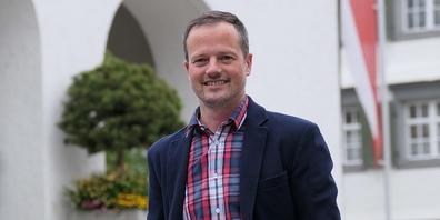 Bruno Seelos, seit fünfeinhalb Jahren Gemeindepräsident in Berneck