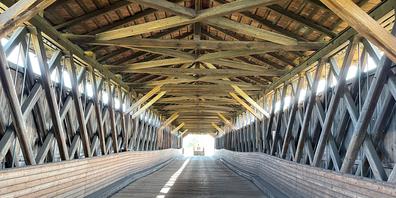 Eine Sanierung würde das Aussehen der alten Senderbrücke zu sehr verändern, weshalb der Denkmalschutz dagegen ist