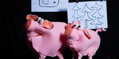 Ob Piggeldy und Frederick Schwein haben? Im Fabriktheater findest du es heraus.