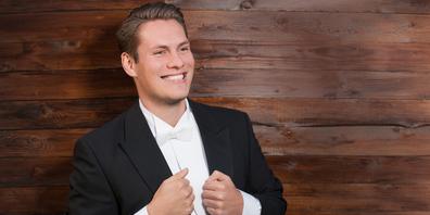 Singt im Rahmen der Feierlichkeiten zum 31. Jahrestag der Deutschen Einheit am kommenden Sonntag die Nationalhymne: der Lachner Bastian Thomas Kohl.