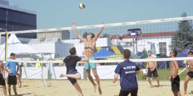Volleyball am Beach Battle Uzwil