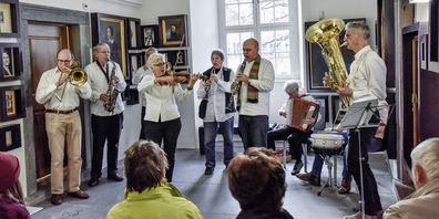 Die Bandella delle Millelire spielt am Samstag in der Ribischenke.