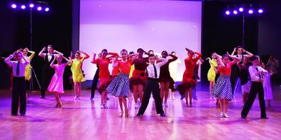 Die Tanzshow stand unter dem Motto «Feeling Good».