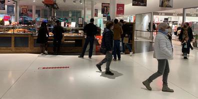 Die Shopping Arena im Westen der Stadt St.Gallen. (Bild: Matilda Good)