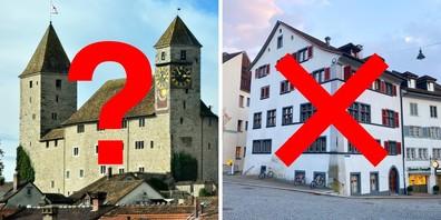 Die Polen wollen mit ihrem Museum nicht ins Haus «Zum Pfauen» beim Hauptplatz einziehen. Wie lange sie nun aber im Schloss bleiben, ist ungewiss.