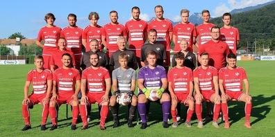 Die Mannschaft des FC Montlingen Saison 2021/22