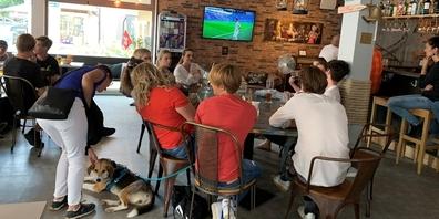 Der Match Schweiz – Spanien sorgte für einen top Umsatz im «Ahoi».