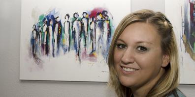«Die Kunst half mir dabei, Geschehenes zu verarbeiten und mich auf der Leinwand mit Farbe und Pinsel auszudrücken.»
