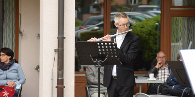 Nebst dem Linthgebiet traten Gruppen des Orchesters auch in der March und im Glarnerland auf.