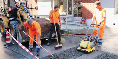 Die Arbeiten zur Behebung des Wasserschadens werden abgeschlossen.