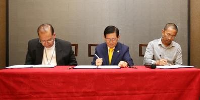 HWPL: Unterzeichnung des Friedensvertrags.