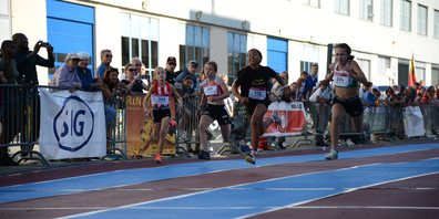 Der Swiss Athletics Sprint Final fand am 19. September in Neuhausen statt.