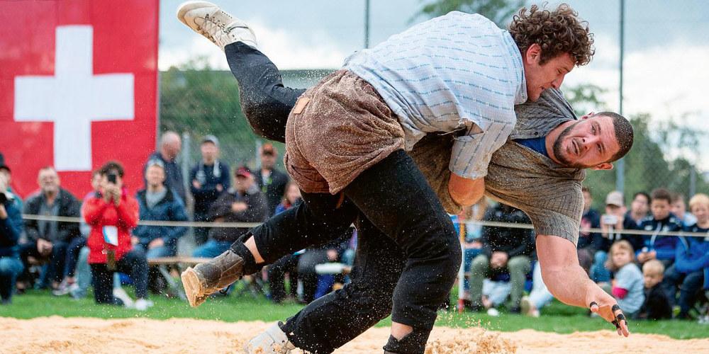 Das Duell Orlik Armon (Maienfeld) gegen Leuppi Samir (Winterthur) endete ohne Sieger.
