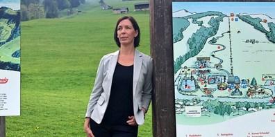 An der GV wurde die neue Verwaltungsratspräsidentin der Sportbahnen Atzmännig AG gewählt: Claudia De Boni.