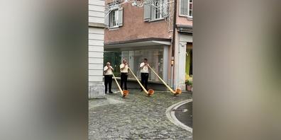 Traditionell wurde der erste August im Toggenburg gefeiert.
