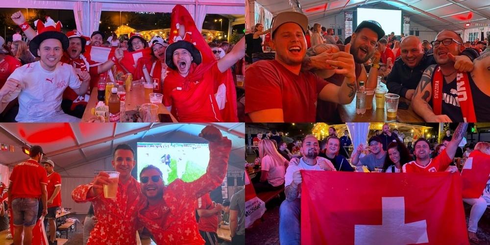Auch in Rappi darf gefeiert werden: Die Schweiz schlägt Frankreich in einem sensationellen Spiel im Penaltyschiessen mit 5:4.