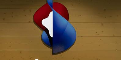 Das Swisscom-Logo im neuen House of Swisscom am Marktplatz in Basel. (Symbol-Bild)