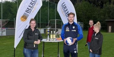 Daniel Lässer wurde am Beerli-Storen-Cup 2020 als bester Torschütze ausgezeichnet