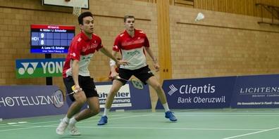 Nicolas A. Müller (vorne) und Julien Scheiwiller sind wichtige Leistungsträger.