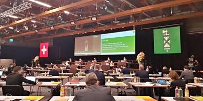 Die SVP-Fraktion fordert die Einführung eines Gemeindemehrs. (Symbolbild Kantonsrat)