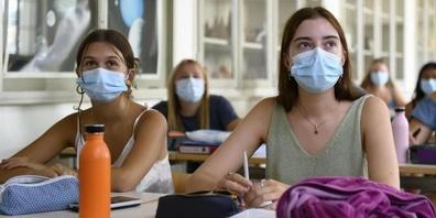 Ab Montag müssen die St. Galler Schüler ab der Oberstufe wieder eine Maske tragen.