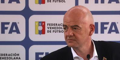 Sucht nach einem Weg, sein Lieblingsprojekt einer WM alle zwei Jahre verwirklichen zu können: FIFA-Präsident Gianni Infantino