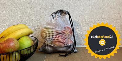 «sälber gmacht»: ein Obstbeutel für weniger Plastik