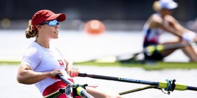 Jeannine Gmelin hält an den Olympischen Spielen in Tokio Kurs
