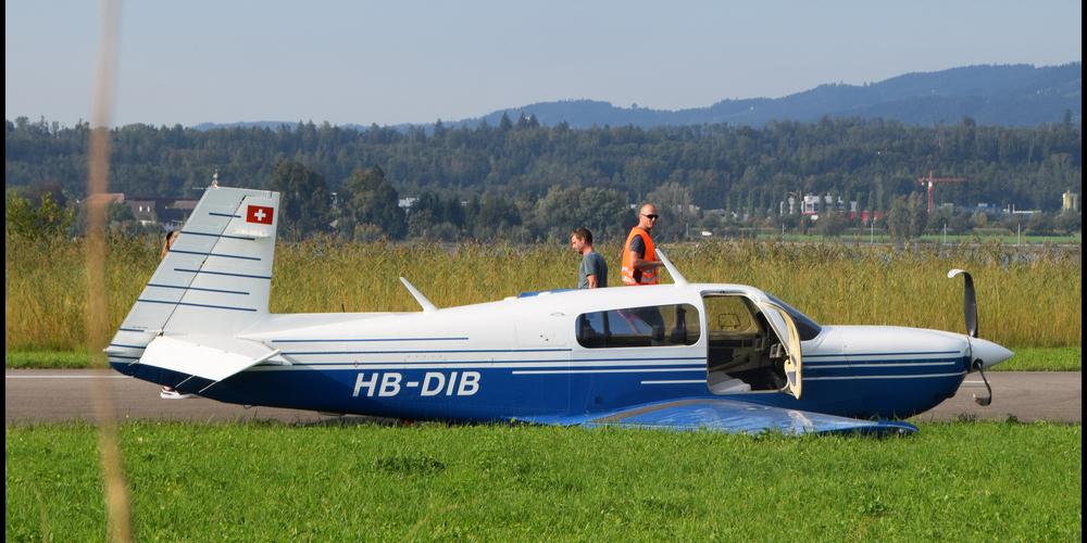 Am 11. September kam es auf dem Flugplatz Wangen-Lachen zu einem Zwischenfall. Die Ursache ist jetzt geklärt.