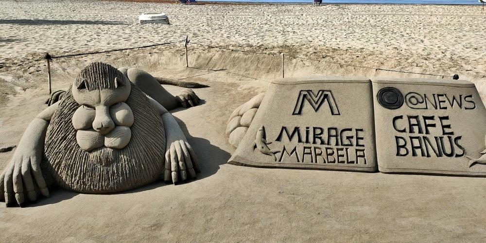 Faszination Sand in Spanien.