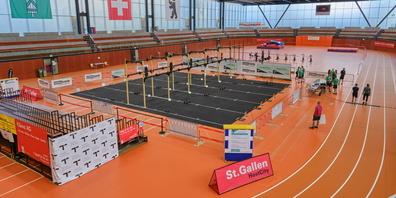 Das Athletik-Zentrum verwandelt sich in einen Competition-Floor