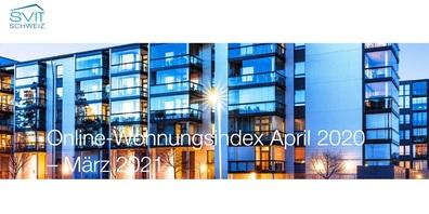 Die Anzahl der auf den Schweizer Immobilienportalen ausgeschriebenen Mietwohnungen stieg auf rund 513'000 Objekte.
