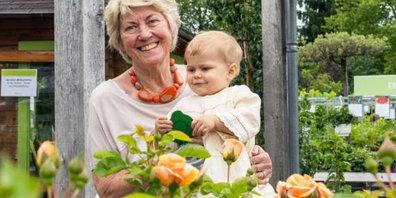 Senior-Chefin Elsbeth Meier und ihre Enkelin Mathilda Alice.