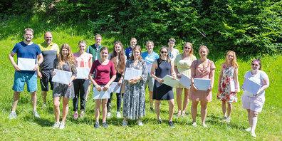 Der «Giro Diploma» gastierte in diesem Jahr auch in Seewis.