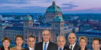 Das Vertrauen der Bevölkerung in den Bundesrat hat in der Corona-Krise keinen Schaden genommen. Das zeigt eine neue Studie der ETH Zürich. (Archivbild)