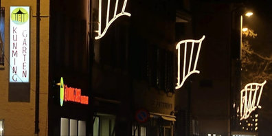 Die Weihnachtsbeleuchtung von Stäfa kommt nach Bäretswil