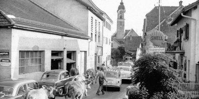 Die Dorfführung beleuchtet die Geschichte von Zizers.