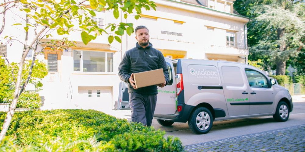 Knapp 20 Prozent der Pakete hat Quickpac noch am Tag der Einlieferung zugestellt.