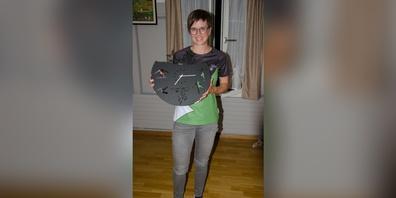 Marina Züst wurde als Ehrenmitglied im Turnverein St. Peterzell aufgenommen.