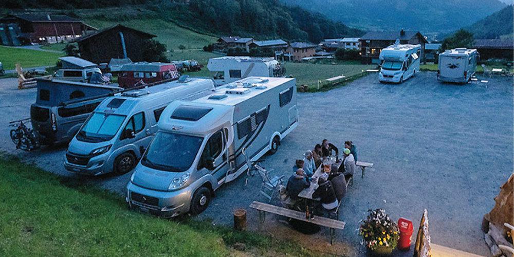 Der Stell- und Campingplatz Fideris ist ein positives Beispiel für Projekte, welche die Region stärken und die Abwanderung bremsen.