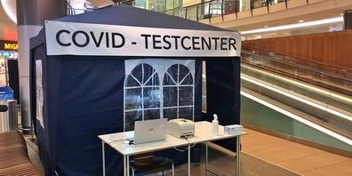 Ab sofort kann man Antigentests und PCR-Tests im Seedamm-Center machen lassen.
