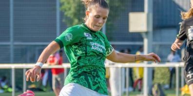 Captain Valeria Iseli: Traf beim Saisonauftakt doppelt.