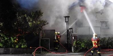 Da konnte die Feuerwehr nichts mehr ausrichten