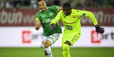 Sions Goalie Timothy Fayulu (rechts) wurde am letzten Spieltag offenbar Opfer einer Rassismus-Attacke.